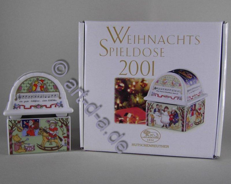 Hutschenreuther Weihnachtsspieldose 2001