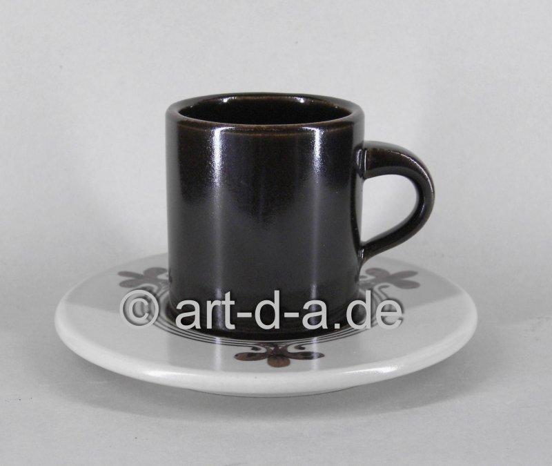 Kaffee-Obere mit Unterer
