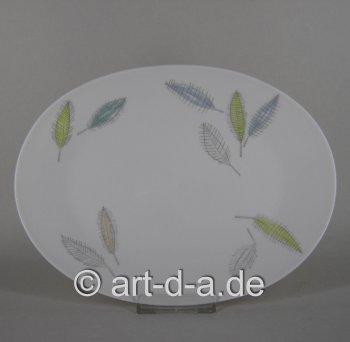 Platte, oval