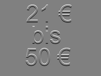 21 bis 50 €