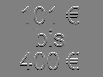 101 bis 400 €