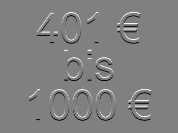 401 bis 1000 €