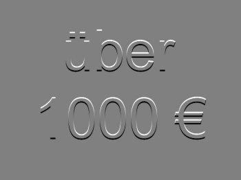 über 1000 €